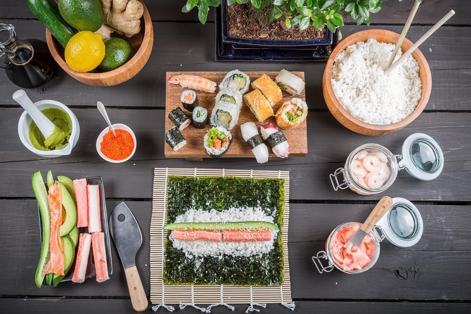 sushi zutaten tipps und kaufempfehlungen online. Black Bedroom Furniture Sets. Home Design Ideas
