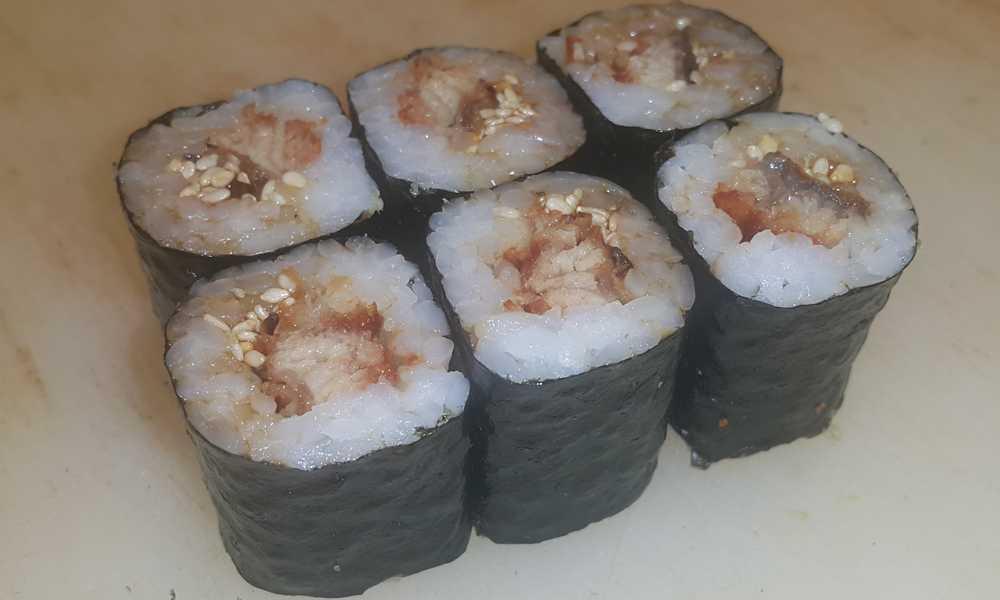 Unagi Maki Sushi Rezept
