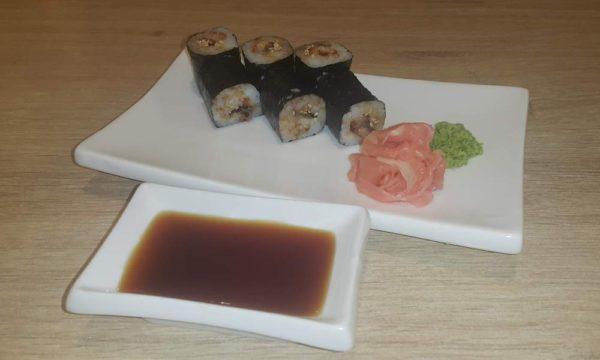 Unagi Maki Sushi Rezept - angerichtet
