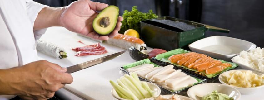 Total von der Rolle - Frankfurt - Sushi selber machen