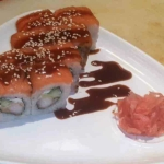 Sushi Rezept Ebi Sake Uramaki