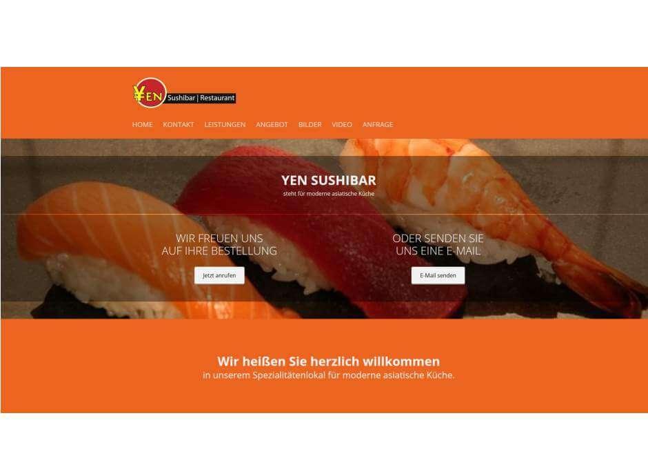 yen sushi bar restaurant f rth sushi restaurants. Black Bedroom Furniture Sets. Home Design Ideas