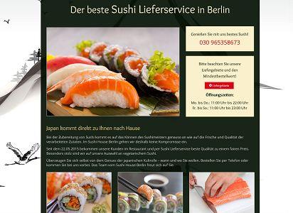 Sushi House in Berlin
