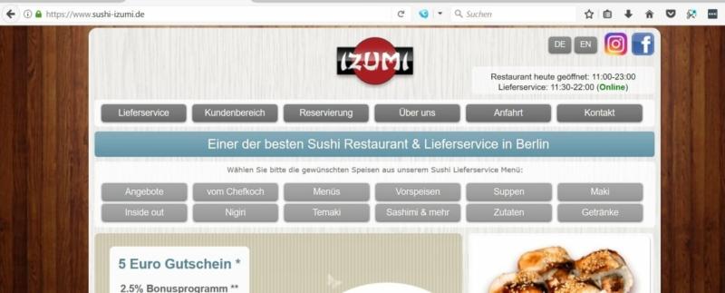 Izumi Restaurant-Sushi Bar