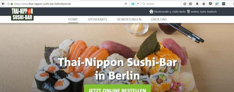 Thai-Nippon Sushi Bar in den Spandau Arcaden