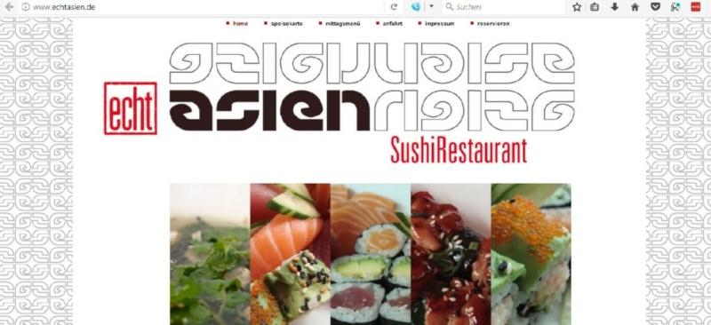 Das echtasien SushiRestaurant in Blankenese und Winterhude