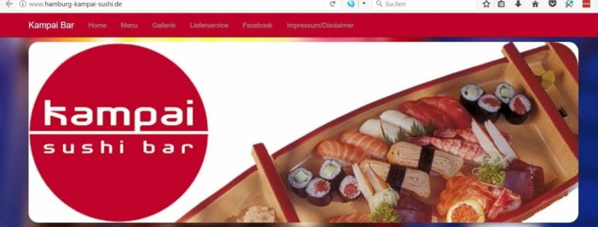 Kampai Sushi Bar in Hamburg