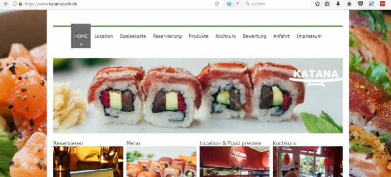 Das Katana Sushi in Hamburg Neustadt