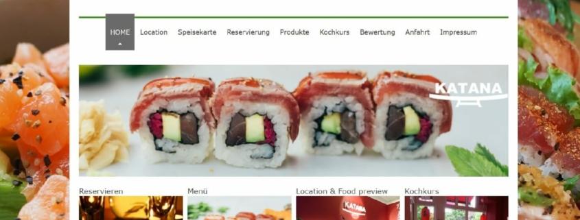 Katana Sushi Restaurant in Hamburg