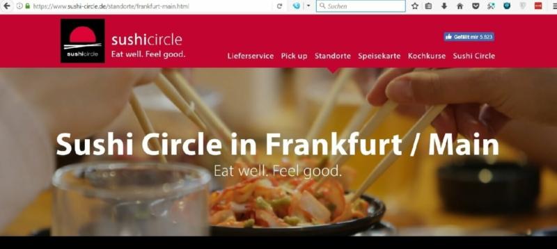 Weiteres Sushi Circle Neue Mainzer Straße FFM