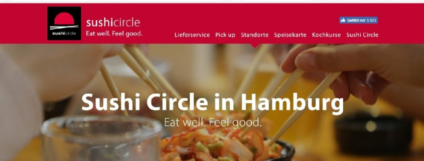 Sushi Circle Restaurant Hamburg - Colonnaden