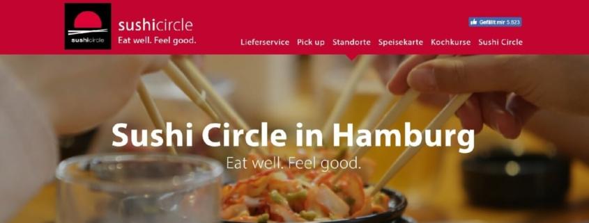 Sushi Circle Restaurant Hamburg - Mönckebergstraße