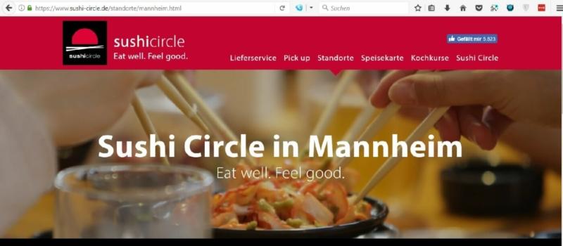 Das Mannheimer Sushi Circle ist im Q7