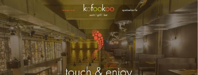 Japanisches iPad-Restaurant Kofookoo - Sushi selber machen