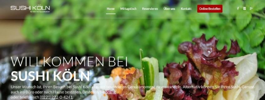 """""""Sushi Köln"""" Leyendeckerstr. 8 - Sushi selber machen"""