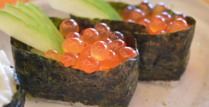 Sushi Sorte: die Gunkan Maki