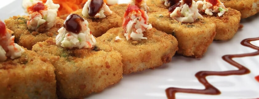 Inari-Sushi: Frittiertes Sushi-Rezept - Sushi selber machen