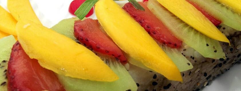 Fruitshi: süßes Obst-Sushi Rezept - Sushi selber machen
