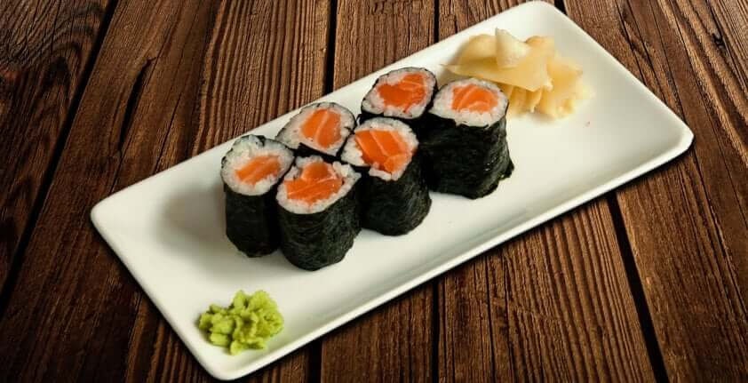 Sushi Sorte: die Hoso Maki