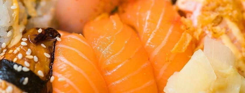 Oshi-Sushi: leckeres Rezept mit Lachs - Sushi selber machen