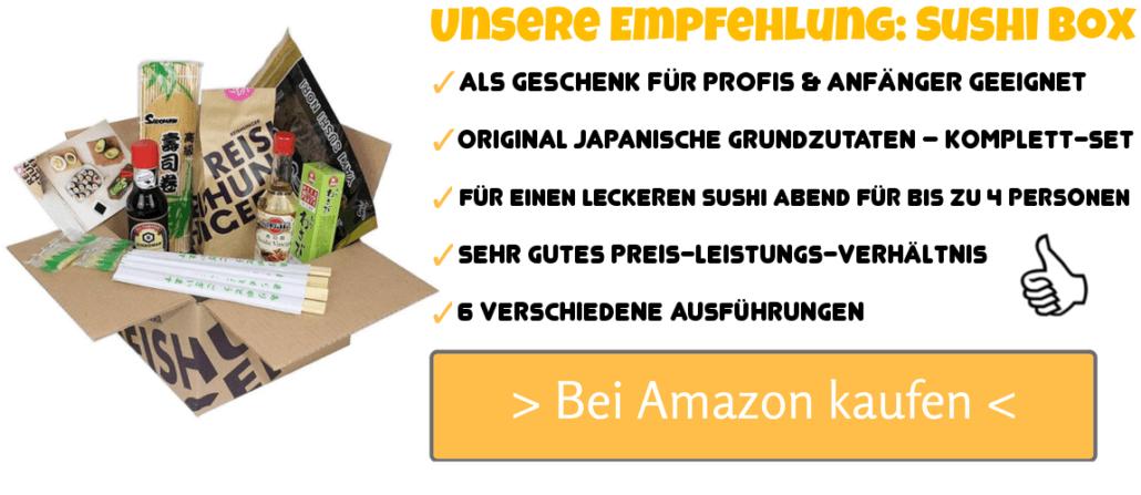 Reishunger Sushi Vorrats-Box (für bis zu 4 Personen) Komplett-Set mit Sushi Zutaten