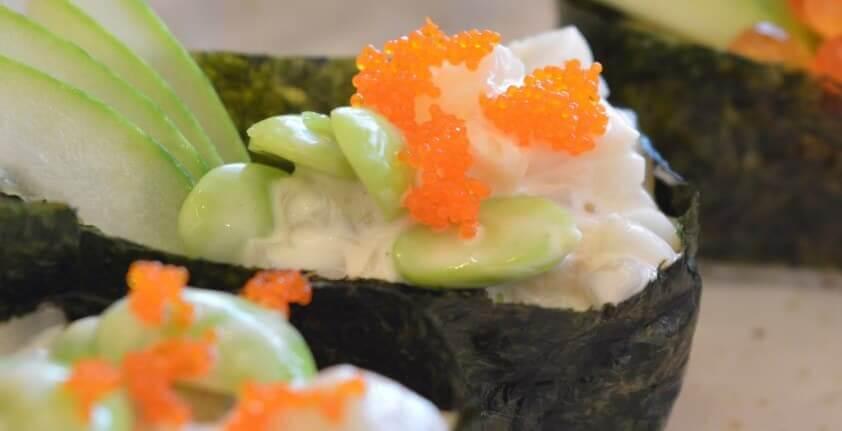 Sushi Sorten: Te-Maki Sushi