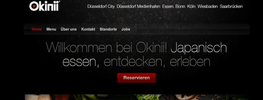 All You Can Eat bei Okinii in Düsseldorf - Sushi selber machen