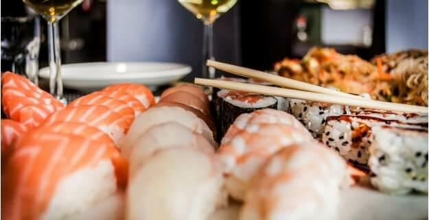 Sushi & Champagner: Seminar bei Garibaldi 1